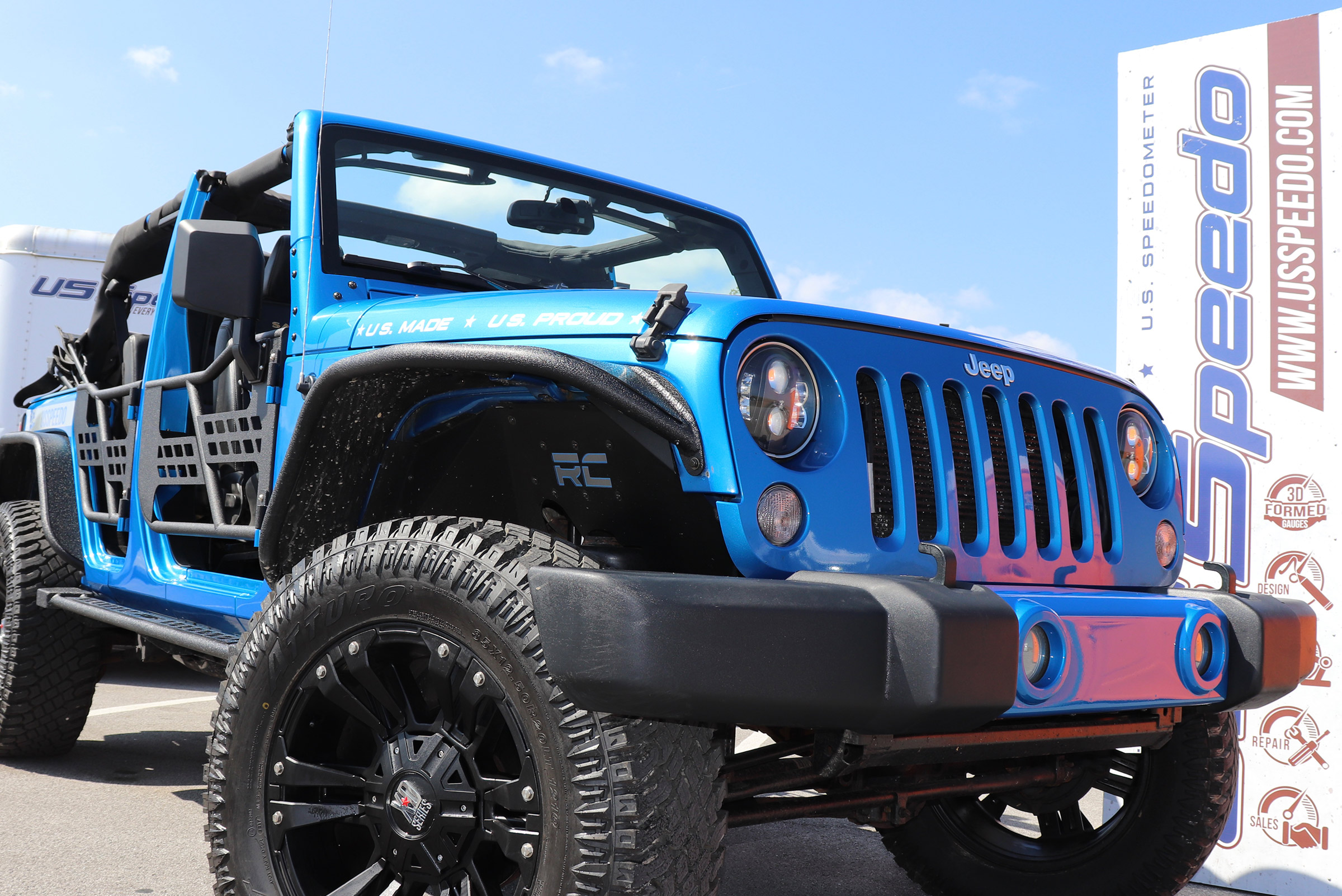 US Speedo at The Great Smoky Mountain Jeep Invasion 2018