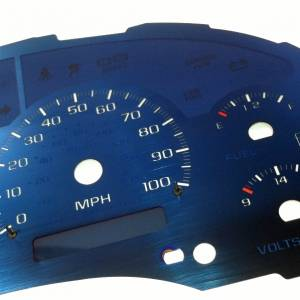 US Speedo Aqua Edition for 1998-2002 Chevrolet / GMC S10 / Blazer / Envoy