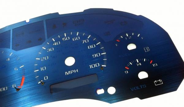 US Speedo Aqua Edition for 1998-2002 Chevrolet / GMC S10 / Blazer / Envoy