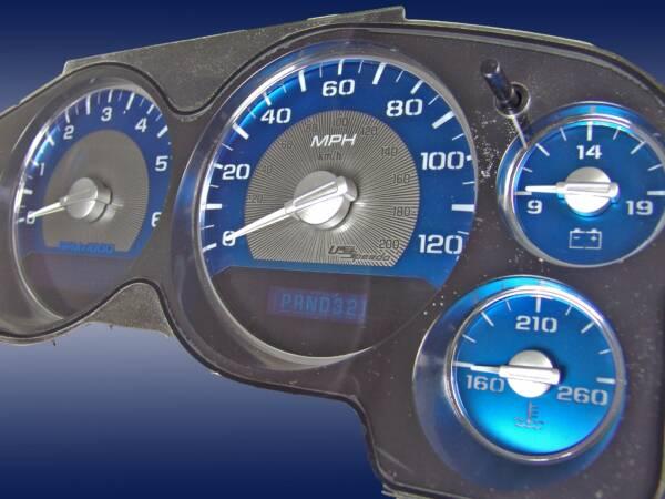 US Speedo Aqua Edition for 2007-2013 Chevrolet / GMC Truck & SUV