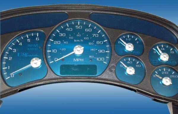 US Speedo Aqua Edition for 1999 Chevrolet / GMC Truck & SUV