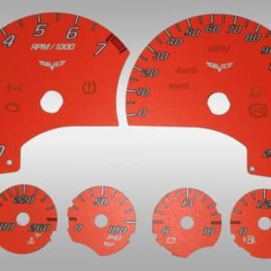US Speedo Daytona Edition for 2007-2010 Chevrolet Corvette