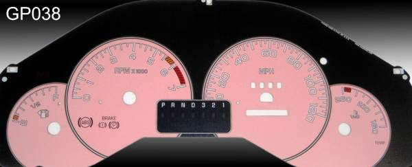 US Speedo Daytona Edition for 1999-2003 Pontiac Grand Prix