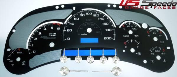 US Speedo Stealth Edition for 2003 Chevrolet / GMC Truck & SUV