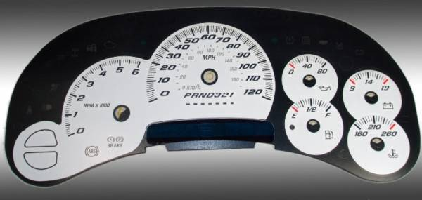 US Speedo Daytona Edition for 2006 Chevrolet / GMC Truck & SUV