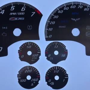 US Speedo Stainless Edition for 2005-2013 Chevrolet Corvette