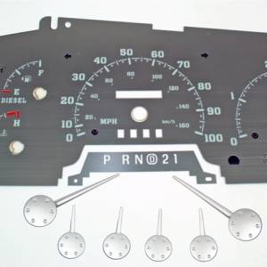 US Speedo Stainless Edition for 1999-2003 Ford F250 / F350 Diesel