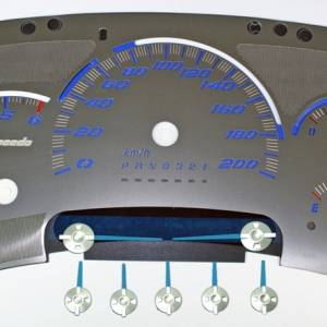 US Speedo Stainless Edition for 2006 Chevrolet / GMC Truck & SUV