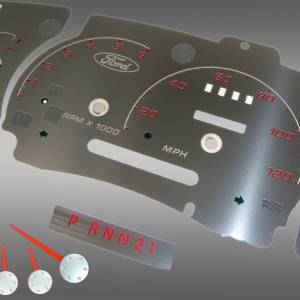 US Speedo Stainless Edition for 1999-2003 Ford Ranger / Explorer / Sport Trac