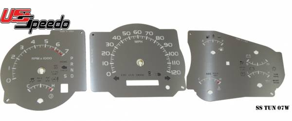 US Speedo Stainless Edition for 2007-2010 Toyota Tundra