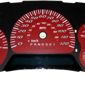 US Speedo Daytona Edition for 2006-2009 Chevrolet / GMC Trailblazer / Envoy