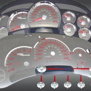 US Speedo Stainless Edition for 2006-2007 Chevrolet / GMC Truck & SUV