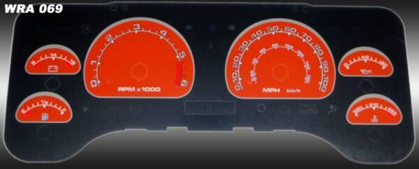 US Speedo Daytona Edition for 2001-2006 Jeep Wrangler