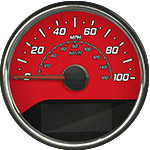 Daytona Edition Custom Speedometer Gauge Face