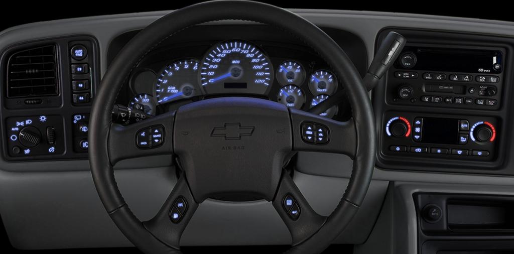 Us Sdo Led Dashboard Lighting Kit For 2003 2006 Chevrolet Gmc Truck Suv