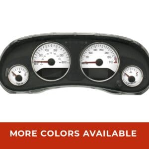 Jeep wrangler JK JKU gauge face